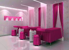 美容院窗帘的装饰风格好吗 你家可以装吗?