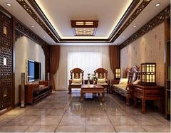 中式装修客厅的设计要点介绍 大气壮观的布局