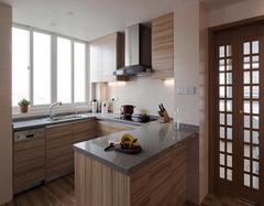 小厨房装修实例 让小空间变大空间