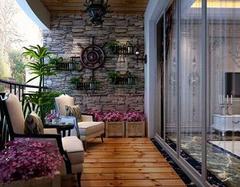 顶层露台阳台装修设计 设计要点和步骤如何