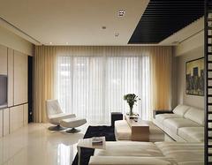 客厅与窗帘颜色搭配  客厅窗帘色彩大全