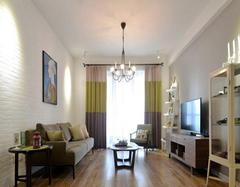 简约风格客厅窗帘颜色搭配 客厅窗帘搭配大全