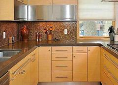 不锈钢橱柜台面优缺 橱柜台面多少钱一米