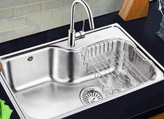 厨房水槽尺寸多少合适 不同材质优势如何