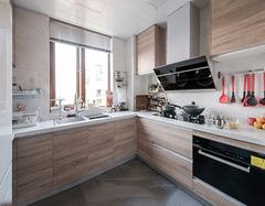 厨柜台面用什么颜色好看?   厨房橱柜颜色来决定