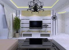 客厅电视墙怎么装修  设计师帮你设计!