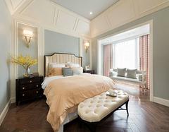 时尚精美小美式风格卧室装修 小资们的最爱
