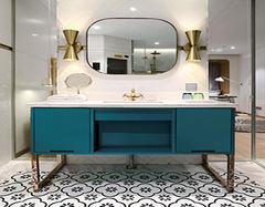 浴室柜安装高度  浴室柜安装需要的注意事项