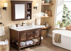 实木浴室柜怕潮湿吗 浴室柜橡木好还是pvc好