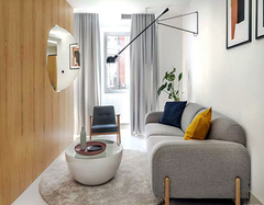 40平米单身公寓装修预算 3万打造精美时尚单身公寓