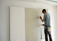 自粘贴墙纸有什么技巧 墙纸怎样粘贴在墙上