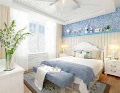 地中海风格卧室颜色搭配 更美