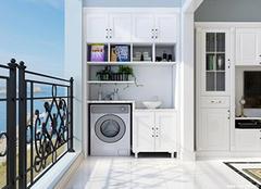 阳台柜子最实用的设计 阳台柜子装修效果图