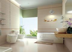 整体浴室柜安装小诀窍 让家居更省心