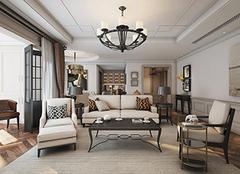 现代美式风格设计理念 设计温馨自由家居