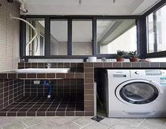 客厅阳台改洗衣房下水如何改 看了你就明白了
