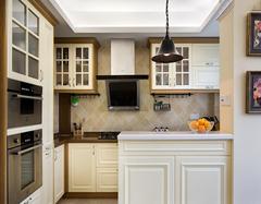美式风格橱柜瓷砖搭配 让厨房成为颜值担当
