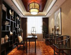 中式风格装修书房设计的四大原则 轻松搞定中式书房装修