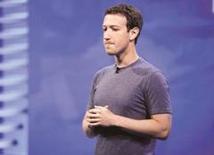 扎克伯格首次发声回应脸书泄露丑闻 FB市值两天蒸发500亿美元