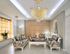 客厅水晶灯变脏怎么办  客厅水晶灯怎么清洗
