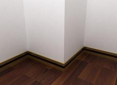客厅踢脚线高度标准多少 实木 不锈钢 瓷砖 石材踢脚线高度分析