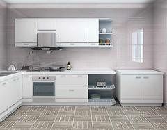 厨房装修用什么瓷砖好看  厨房瓷砖色彩搭配技巧