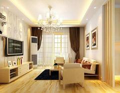 130平米花8万简欧风格 它的客厅该怎么装修
