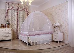 蚊帐什么颜色适合睡眠 双人床用什么蚊帐好