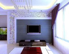 电视背景墙装修风水禁忌 选对颜色幸运连连
