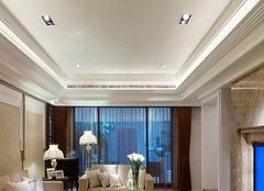 客厅吊顶常见造型有哪些 客厅吊顶注意事项