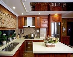 厨房台面材料哪种好厨房橱柜台面材料价格大全