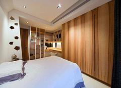 1万元卧室书房一体效果图 书房和卧室一体如何设计