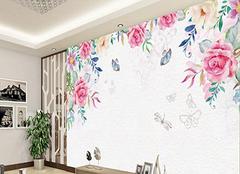 手绘电视背景墙的优势及设计技巧