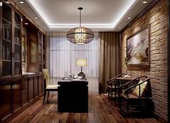 2018最新中式书房装修效果图 书房装修设计要点有哪些