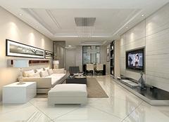 装修110平米多少钱 110平方三室一厅装修图