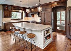开放式厨房的设计重点介绍 这样设计开放式厨房顾虑全无