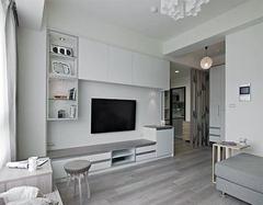 2万元半包60平米两室一厅 60平米两室一厅装修图
