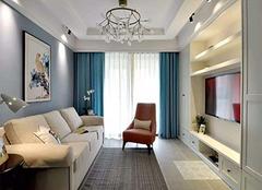 140平米三室两厅装修 演绎与众不同高冷范儿