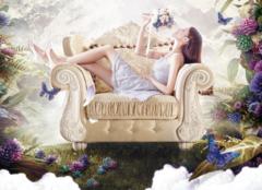 想买欧式奢华型布艺沙发,哪个牌子比较好?