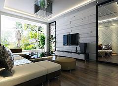 4万元90平方米装修全包够吗 现代风格二室一厅一厨一卫