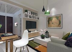 简约风格客厅地毯怎么铺好看 简约客厅地毯选购技巧