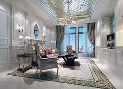 欧式客厅软装搭配技巧 高贵美丽惹人羡慕