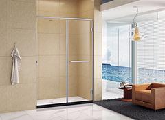 浴室用推拉门好还是平开门好 区分开利弊就会选择了