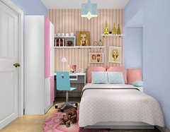 女孩儿童房设计与装修 女孩儿童房适合哪种装修风格