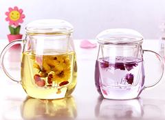 ins风网红蘑菇茶杯 好看的玻璃茶杯图片大全