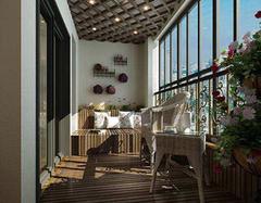 阳台装修应该注意什么 1.6米宽阳台装修怎么设计好