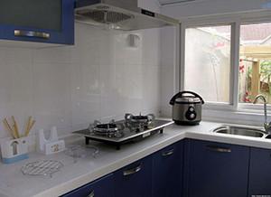 厨房灶台用什么材料好 灶台面用大理石好还是石英石好图片
