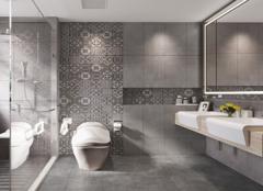 卫生间瓷砖什么颜色好 卫生间地砖和墙砖搭配