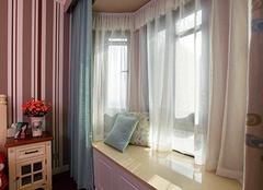 飘窗窗帘怎么做  飘窗窗帘怎么装才好看