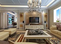 现代简约客厅地毯装修案例 客厅地毯原来可以这样搭
